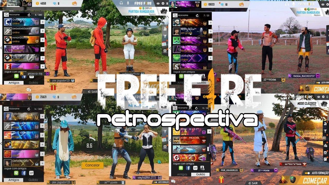 RETROSPECTIVA FREE FIRE NA VIDA REAL 2019 - YouTube