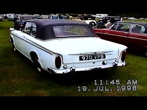 Hillman Rootes Classic Car Show Oxfordshire 1998 pt two