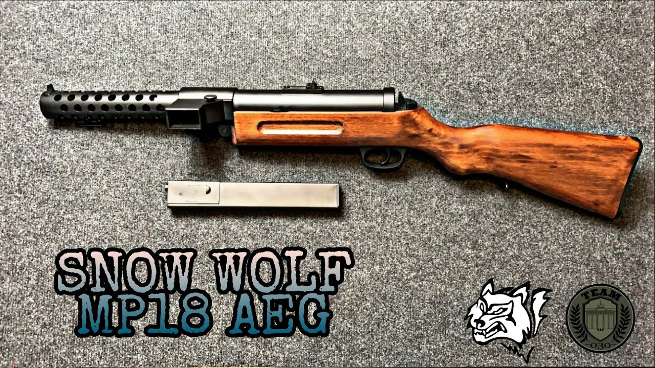 SNOW WOLF MP18 Bergmann 0.5 Joule AEG