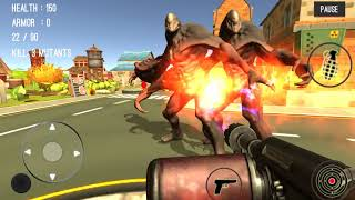 Monster Killing City Shooting III Trigger Strike - gameplay 3