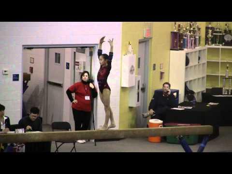 2011 Maryland Classic - Level 9 Balance Beam (Emma Marchese, score: 9.65)