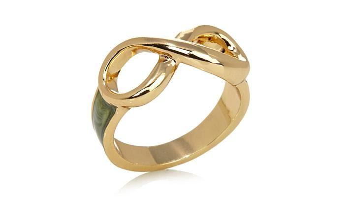 Roberto By Rfm Capri Infinity Design Enamel Ring