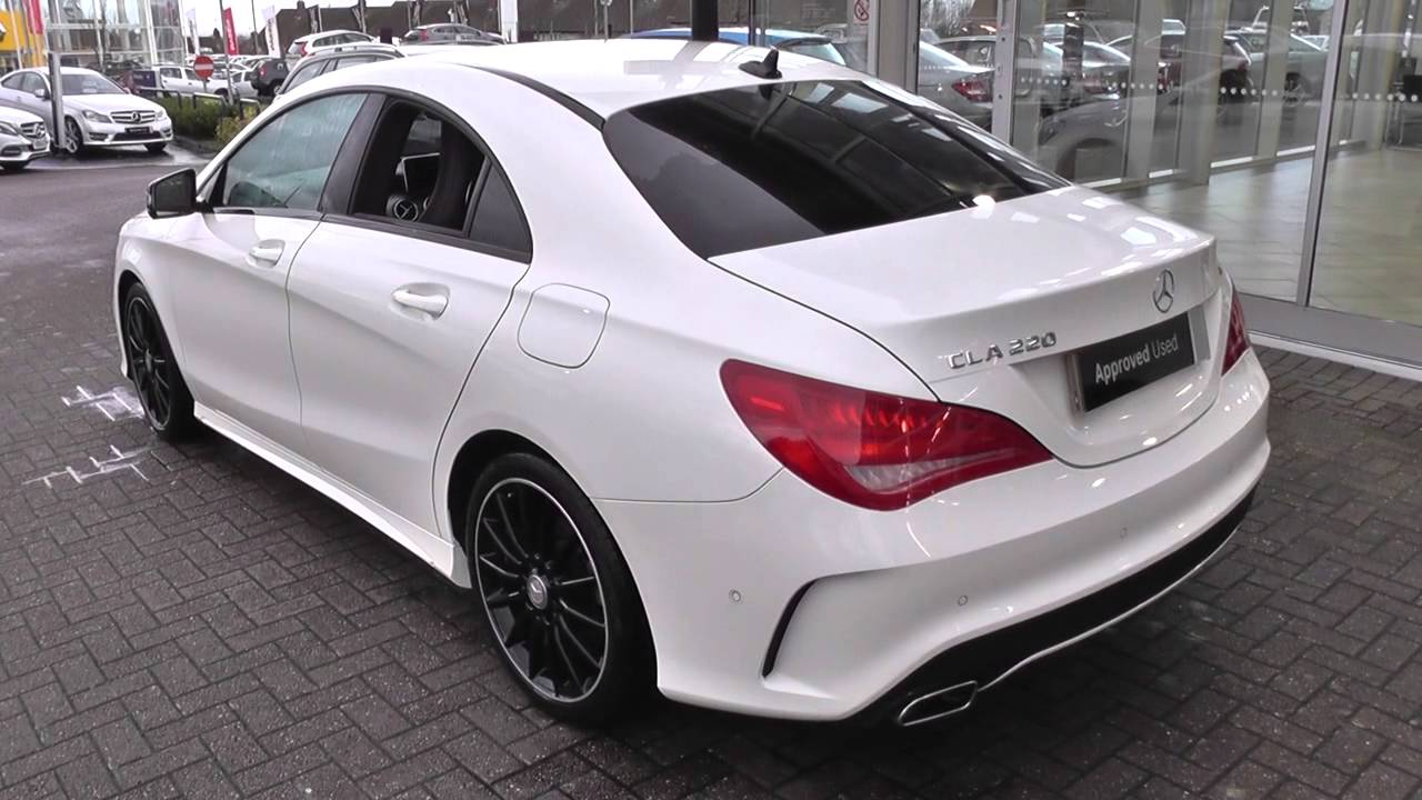 mercedes benz cla class cla 220 cdi amg sport 4dr tip auto u27118 youtube. Black Bedroom Furniture Sets. Home Design Ideas