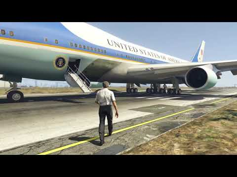 Dramatic Air Force One Plane Emergency Landing at Aircraft