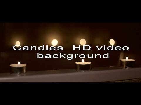 Candles FULL HD video background