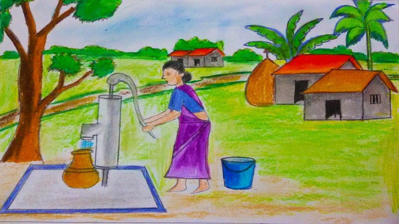 How to draw water from the well to the house Water supply from the well 14