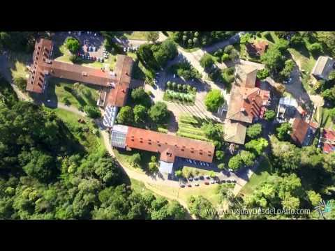 Video aéreo del Parque de Vacaciones de UTE-ANTEL, Uruguay desde lo Alto