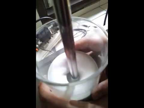 Water in Silicone sunscreen formulation (made from dimethicone crosspolymer)