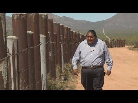 Стена между Мексикой