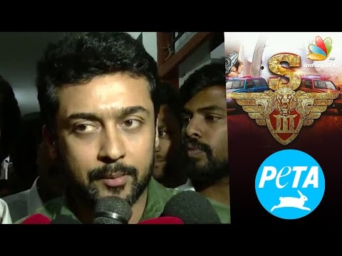 Actor Suriya using Jallikattu issue for movie publicity : PETA | Fans Angry