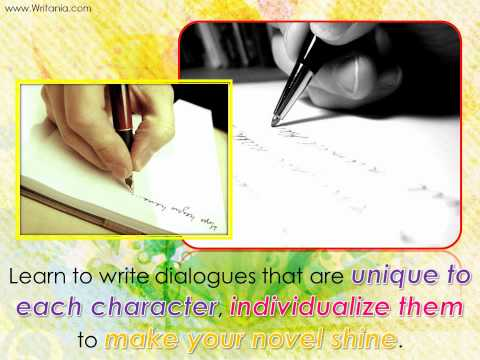 The Best Way to Write Dialogue for a Novel