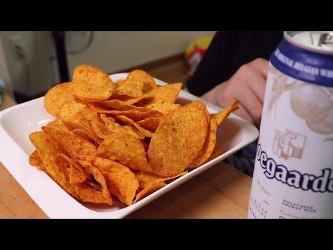 혼술 꼬치맛 나초칩 먹방입니다!!