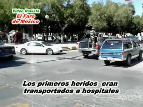 Balacera en Matamoros, Tamaulipas
