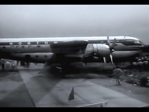 """Northwest Boeing 377 Stratocruiser - """"Crash Landing Chicago"""" - 1955"""