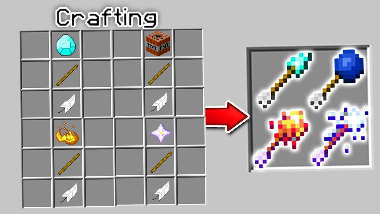 how to craft an arrow in minecraft crafting new minecraft arrows minecraft mods explosive 8119