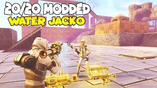 He LOST 20/20 Water Jacko OMG It's MODDED 😱 (Scammer Gets Scammed) Fortnite Save The World