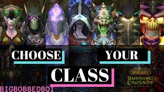 Burning Crusade Classic Cląss Choosing Guide - Class Overviews | WoW TBC Classic Tutorial