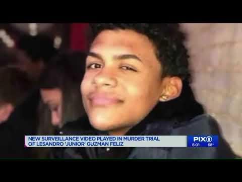 New surveillance video played in murder trial of `Junior` Guzman-Feliz