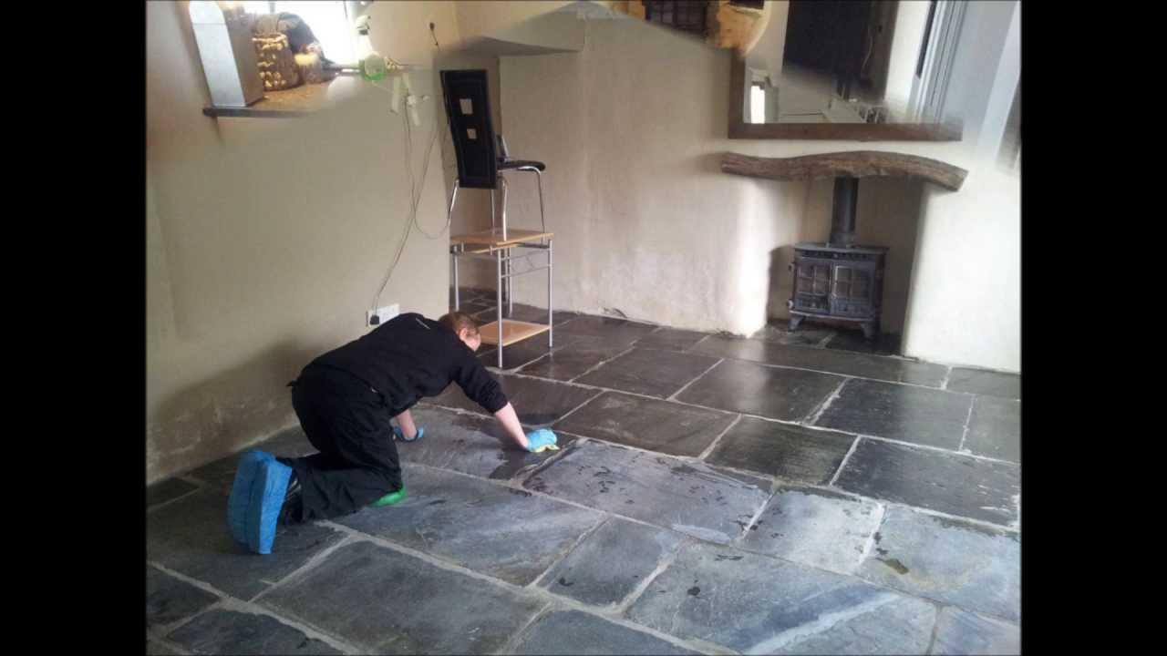 Cleaning slate floors in cornwall youtube cleaning slate floors in cornwall dailygadgetfo Gallery