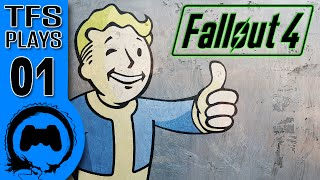TFS Plays: Fallout 4 - 1 -