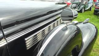 1938 Buick Straight Eight up close