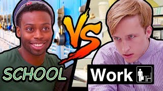 Download SCHOOL vs WORK Mp3 and Videos