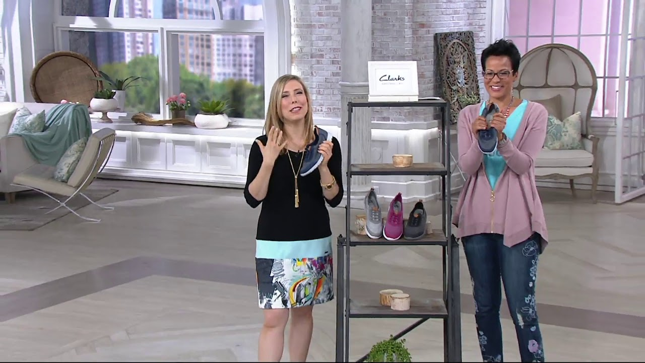 Bungee Sneakers Step Allena Bay on QVC