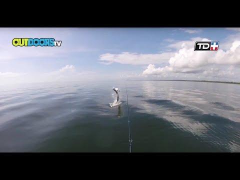 Outdoors TV Costa Rica - Especial Pesca de Sabalo - Fishing Tarpon Special.