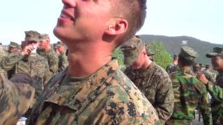 Marines get down in Korea!