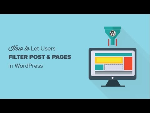 Filter by tags wordpress