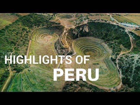 Highlights of Peru from Above | DJI Mavic Pro | 4K