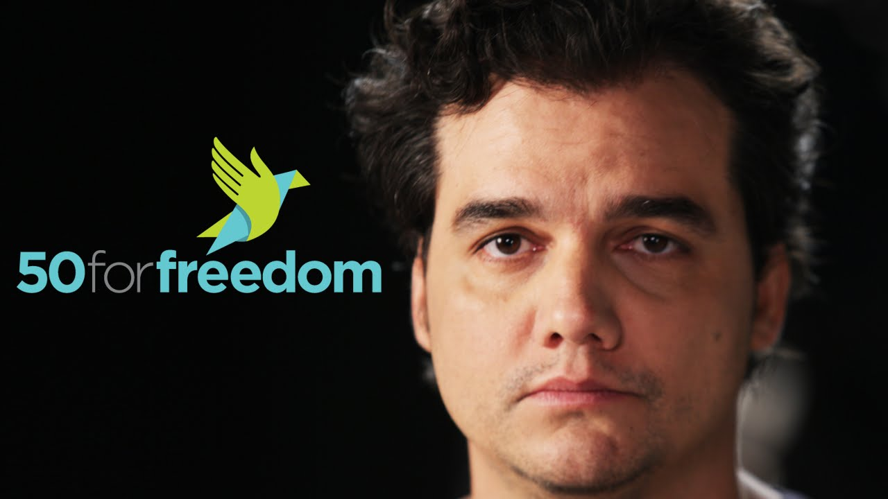 Wagner Moura gives his voice to the voiceless – 50 for Freedom