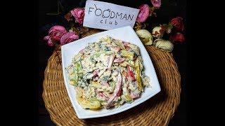 Салат из болгарского перца и сыра: рецепт от Foodman.club