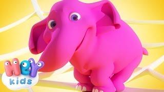 Un Elefante Se Balanceaba - Canción Infantil - HeyKids thumbnail