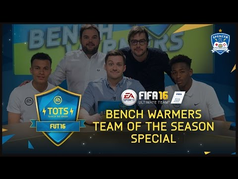 BENCH WARMERS TOTS SPECIAL (Dele Alli, Reece Oxford, Lloyd Griffith & Iain Stirling)