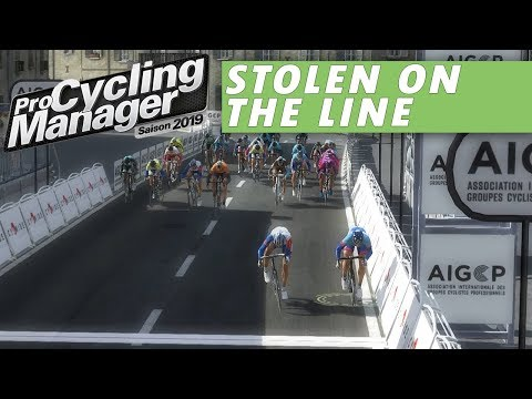 Stolen on the line - Pro Cyclist Ep08 - Pro Cycling Manager 2019 |