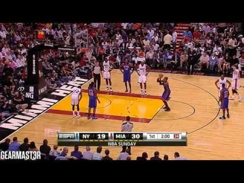 Carmelo Anthony - 29 points vs Heat Full Highlights (2011.02.27)