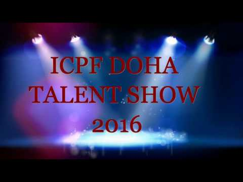 Doha ICPF talent test group song event 2016