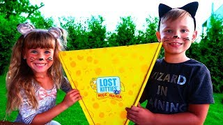 Потерянные котята или как Аришка была мышка Lost Kitties Mice Mania от Hasbro