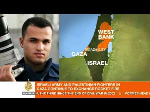 Israeli Air Strikes Hit Palestinian PM's Office