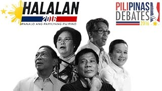 PiliPinas Debates 2016(The 3rd PiliPinas Debates Live Stream. ABS-CBN Presidential Town Hall Debate 2016. Click here for the latest highlights on the 3rd PiliPinas Debates: ..., 2016-04-25T04:32:15.000Z)