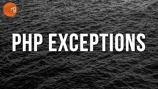Error Handling with PHP - Exceptions + Subclass Exceptions