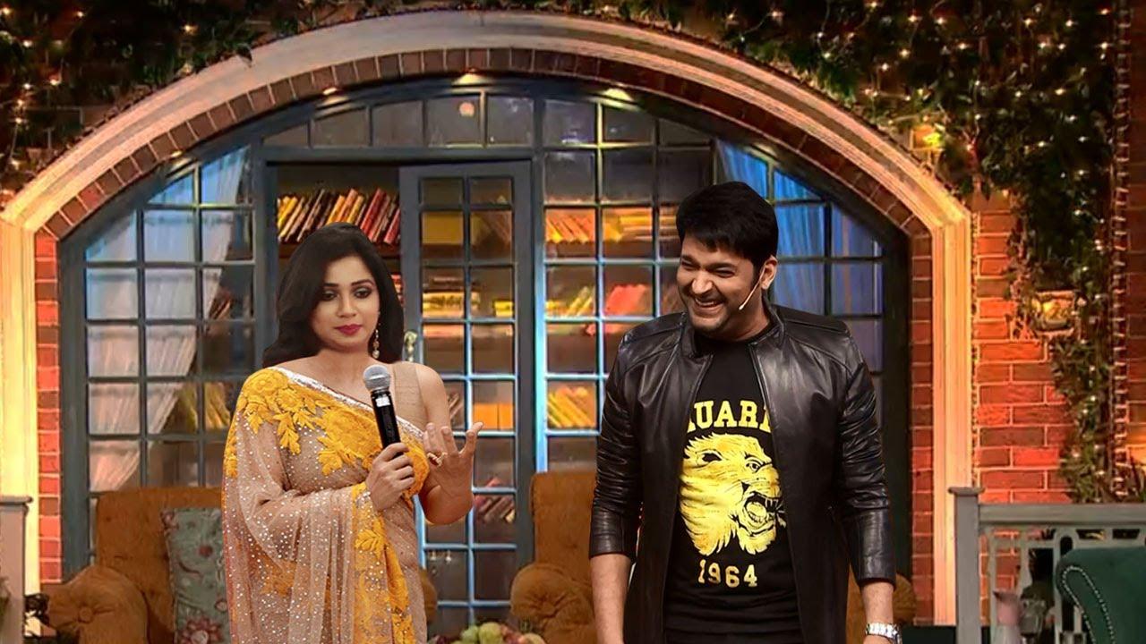 The Kapil Sharma Show | OMG Shreya Ghoshal & Kapil Sharma | I Love You Shreya
