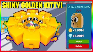 SPEED CHAMPIONS *SHINY GIANT KITTY!* I WAS *GIVEN* 8 FREE GIANT GOLDEN KITTYS FOR FREE! SUPER OP!!!