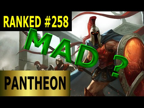 RAM MAD ? Pantheon Mid - Full League of Legends Gameplay [German] Let's Play LoL - Ranked #258