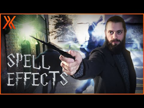 How to create Harry Potter spell effects | HitFilm Tutorial