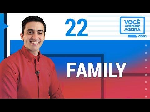 AULA DE INGLÊS 22 Family parents mom dad brother sister