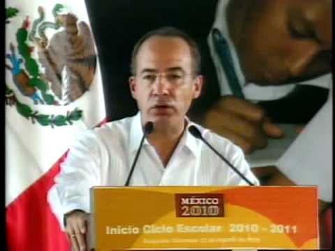 El Presidente Calderón en el Inicio del Ciclo Escolar 2010-2011