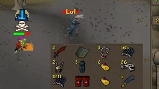 Loot From 3 Hours of Killing EVERYONE I see at Green Dragons (No Bots)