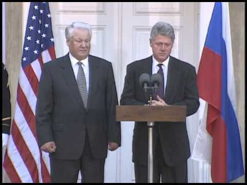 Press Conference with President Clinton & President Yeltsin